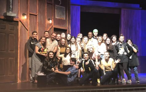 Playwright alumnus visits production