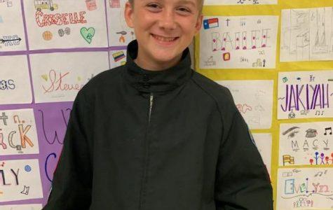 Freshman Copeland Merritt