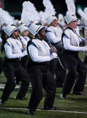 Mustang Band places in local competitions