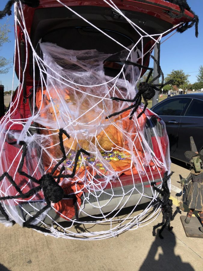 Last years Trunk or Treat had quite the turn out including the trunk pictured above. This years Trunk or Treat is expected to have an even bigger turn out on Halloween in the front parking lot from 4 - 6 p.m.