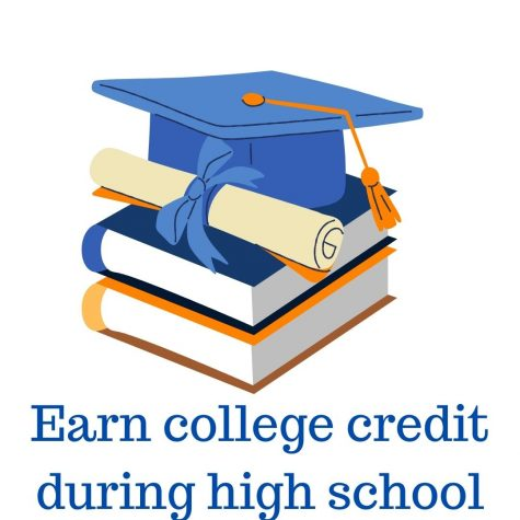 Earn college credit during high school