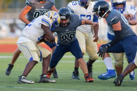 defensive tackle junior Hayden McCommas