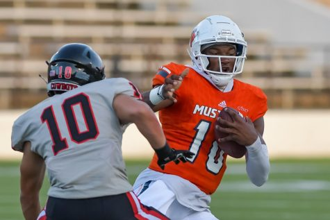 In the first game of the season, quarterback senior Alex Orji had 18 carries for 82 yards and 2 touchdowns against Coppell.